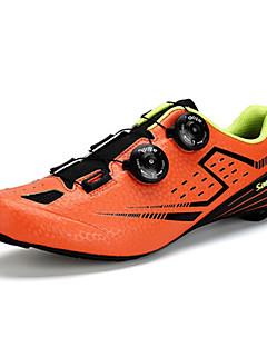 billiga Cykling-SANTIC S12021 Herr Skor för vägcykel Nylon och Karbonfiber / Kolfiber Cykling / Cykel Anti-halk, Ultra Lätt (UL), Andningsfunktion