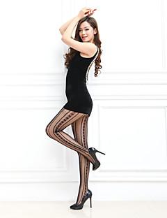 Women's Hosiery Thin Pantyhose,Spandex Print 1pc Black