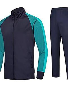 Unisexe Football Ensemble de Vêtements Respirable Confortable Eté Couleur Pleine Térylène Football