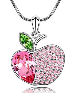 Kadın's Uçlu Kolyeler Kristal Mücevher Sallantılı Stil Mücevher Uyumluluk