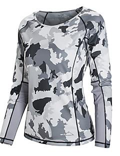 Damen T-Shirt für Wanderer Rasche Trocknung UV-resistant Feuchtigkeitsdurchlässigkeit Anti-Ausrottung tragbar Atmungsaktiv Leichtes
