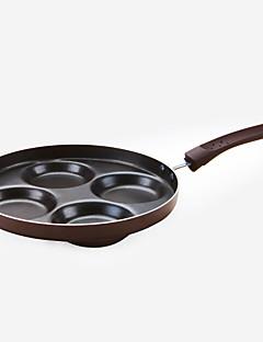 preiswerte Bratpfannen-1 stück 4 löcher eisen antihaft pfanne ei werkzeug kochgeschirr küche liefern