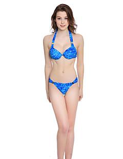 Kvinner Dytt opp Grime Bikini Nylon Spandex
