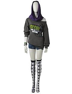 """Inspirert av Attack on Titan Ace video Spill  """"Cosplay-kostymer"""" Cosplay Klær Mote Langermet Toppe Armbånd Korsett Sokker Shorts"""