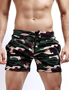 billige Herrebukser og -shorts-Herre Aktiv Militær Gatemote Bomull Rett Tynn Shorts Bukser Kamuflasje