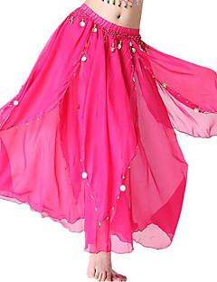 baratos Shall We®-Devemos nós dança de barriga mulheres femininas desempenho chiffon pingente 1 peça saias altas