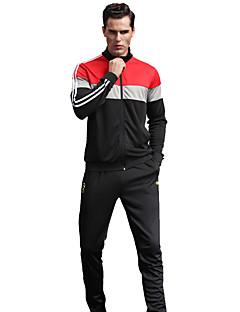 Homme Football Survêtement Respirable Confortable Printemps Automne Hiver Sportif Térylène Football