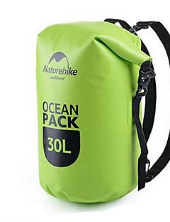 Naturehike 30 L Vízálló Dry Bag Vízálló zsák Vízálló Viselhető mert Mászás Úszás Tengerpart Szörfözés Kempingezés és túrázás