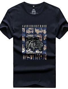 Herrn T-Shirt für Wanderer Komfortabel Oberteile für Angeln Sommer M L XL XXL XXXL