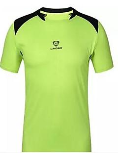 billige Løbetøj-Herre Løbe-T-shirt Kortærmet Vandtæt, Hurtigtørrende, Ultraviolet Resistent Sweatshirt / T-Shirt / Toppe for Træning & Fitness /