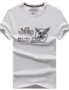 남성용 하이킹 T-셔츠 빠른 드라이 통기성 티셔츠 탑스 용 수렵 여름 L XL XXL XXXL XXXXL