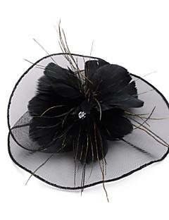 baratos Chapéus de Moda-Mulheres Vintage Festa Linho, Coco Sólido