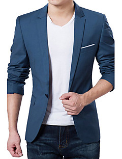 cheap Office Outfits-Men's Business Slim Blazer - Solid