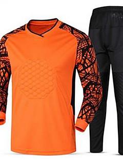 Unisex Fotbal Tepláková souprava Prodyšné Pohodlné Jaro Léto Zima Podzim Jednobarevné Polyester Fotbal