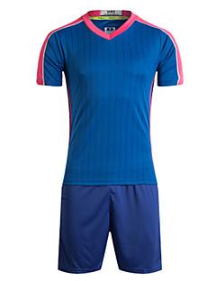 tanie Koszulki piłkarskie i szorty-Piłka nożna Dres Wygodny Lato Klasyczny Poliester Piłka nożna