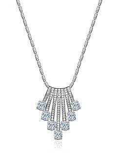 ieftine -Pentru femei Coliere cu Pandativ Bijuterii Bijuterii Zirconiu Aliaj Design Unic Modă Euramerican Bijuterii Pentru Nuntă Petrecere Zi de