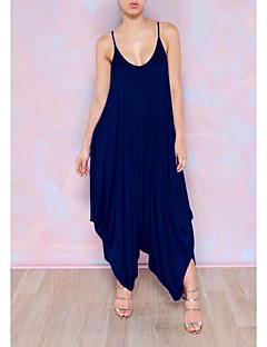 billige Jumpsuits og sparkebukser til damer-Dame Kjeledresser - Mote V-hals / Oversized