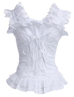 billiga Lolitamode-Korsett Klassisk/Traditionell Lolita lolita tillbehör Blus Cotton