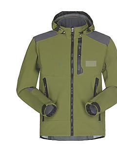 tanie Odzież turystyczna-Męskie Softshellová bunda Keep Warm Wiatroodporna na