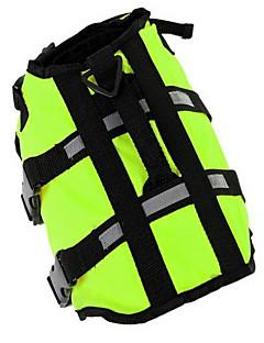 billiga Hundkläder-Hund Livväst Hundkläder Enfärgad Gul Grön Oxfordtyg Kostym För husdjur Herr Dam Sport