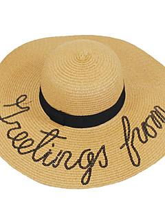 billige Trendy hatter-Dame Tørke Hatt Moderne Kunstnerisk Geometrisk Klassisk Vintage Søtt Fest Kontor Kjærester Fritid Aktiv Ferie Klassisk & Tidløs Chic &