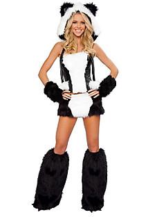 billige Voksenkostymer-Dyremønster Cosplay Kostumer Party-kostyme Dame Halloween Karneval Nytt År Festival / høytid Halloween-kostymer Drakter Lapper Sexy Uniformer / Chiffon