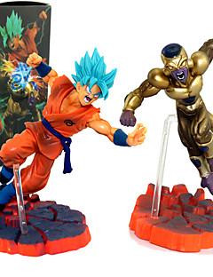 baratos Cosplay Anime-Figuras de Ação Anime Inspirado por Dragon ball Son Goku PVC 12 cm CM modelo Brinquedos Boneca de Brinquedo