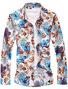cheap Men's Shirts-Men's Vintage Shirt - Floral, Floral Style