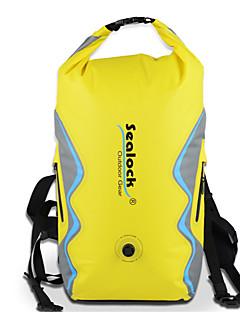 billige Tørposer & Tørbokse-Sealock 25 L Vandtæt tørtaske / Vandtæt rygsæk Vandtæt for Dykning / Lystsejlads / Udendørs