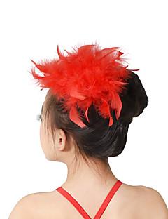 Taneční příslušenství Vlasové ozdoby Dětské Trénink Peří Peří / kožešina