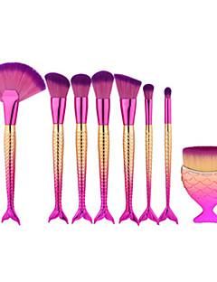 baratos -8pçs Pincéis de maquiagem Profissional Conjuntos de pincel Pêlo Sintético / Escova de Fibra Artificial Moderna / Elegante & Luxuoso