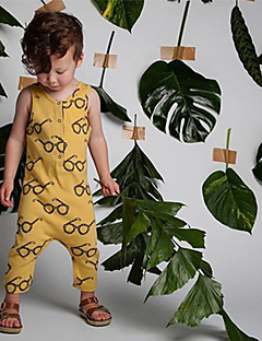 Baby Einzelteil Modisch Einheitliche Farbe 100% Baumwolle Sommer Ärmellos