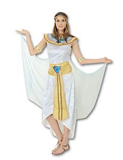 billige Voksenkostymer-Eventyr Egyptiske Kostymer Gudinne Cleopatra Cosplay Cosplay Kostumer Party-kostyme Dame Halloween Karneval Festival / høytid
