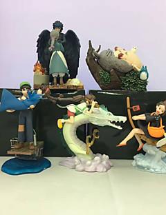 billige Anime cosplay-Anime Action Figurer Inspirert av Min nabo Totoro Cosplay PVC 10.5cm CM Modell Leker Dukke Herre Dame