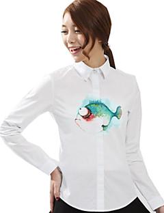 Μπλούζα/Πουκάμισο Κλασσική/Παραδοσιακή Lolita Lolita Cosplay Φορέματα Λολίτα Στάμπα Μακρυμάνικο Lolita Μπλούζα Για την Ύφασμα από βαμβάκι