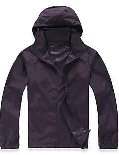 tanie Odzież turystyczna-Damskie Płaszcz przeciwdeszczowy Na wolnym powietrzu Odporność na wiatr, Szybkie wysychanie, Odporność na zużycie Top Kemping i turystyka / Wędkarstwo / Wspinaczka / Odporność na promieniowanie UV