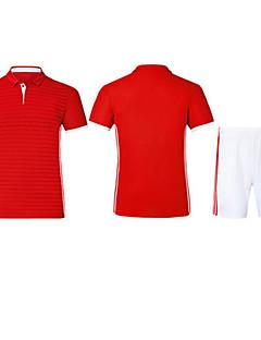tanie Koszulki piłkarskie i szorty-Męskie Piłka nożna Bluza Dresowa Topy Wygodny Lato Prosty Poliester Tactel Piłka nożna