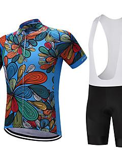 cheap Cycling Jersey & Shorts / Pants Sets-FUALRNY® Cycling Jersey with Bib Shorts Men's Short Sleeves Bike Clothing Suits Bike Wear Quick Dry Moisture Permeability Lightweight