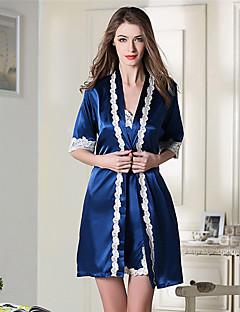 Damen Pyjama - Kunstseide Andere