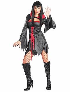 billige Voksenkostymer-Skjelett/Kranium Zombie Cosplay Badedrakt/Kjoler Cosplay Kostumer Kvinnelig Unisex Halloween Karneval De dødes dag Festival/høytid
