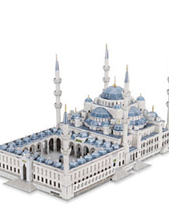 DIY 키트 3D퍼즐 직쏘 퍼즐 종이 모형 장난감 유명한 빌딩 교회 건축 3D 남여 공용 조각