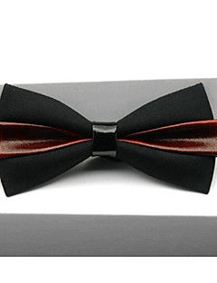 Men's Others Bow Tie,Others Print White Black Blushing Pink Yellow Wine