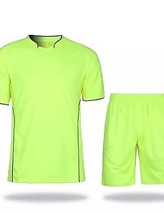 Nespecifikováno Fotbal Mikina Fitness, Běhání & Yoga Odolný proti opotřebení Prodyšnost Celý rok Jednobarevné Polyester Běhání Fotbal