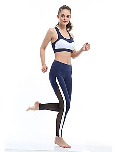 billige Løbetøj-Yoga & Dansesko Tights Underdele Hurtig Tørre Påførelig Høj Elasticitet Åndbarhed Høj Elasticitet Sportstøj Dame Yoga Pilates Træning &