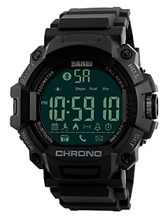 billige Digitalure-SKMEI Herre Digital Digital Watch Armbåndsur Smartur Militærur Sportsur Japansk Alarm Kalender Kronograf Vandafvisende Fjernbetjening LED
