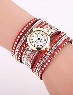 baratos -Mulheres Relógio de Moda Bracele Relógio Único Criativo relógio Relógio Casual Simulado Diamante Relógio Chinês Quartzo imitação de