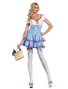 billige Voksenkostymer-Oktoberfest Cosplay Cosplay Kostumer Kostume Dame Voksne Oktoberfest Festival / høytid Drakter Vintage