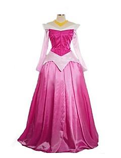 Prinses Sprookje Cosplay Cosplay Kostuums Gemaskerd Bal Vrouwelijk Halloween Carnaval Festival/Feestdagen Halloweenkostuums Roze Vintage