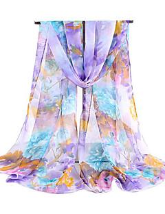 Women's Silk Rectangle Print Spring/Fall