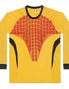 baratos Futebol camisas e Shorts-Unisexo Futebol Blusas Esportes Primavera & Outono Sólido Algodão Futebol